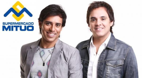 Mituo dá ingresso para show de Guilherme e Santiago a cada R$ 30 em compras