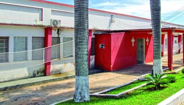 Hospital São José, em Herculândia, onde a bebê foi levada pela mãe, dando entrada já sem vida (Reprodução: Site Mais Tupã).