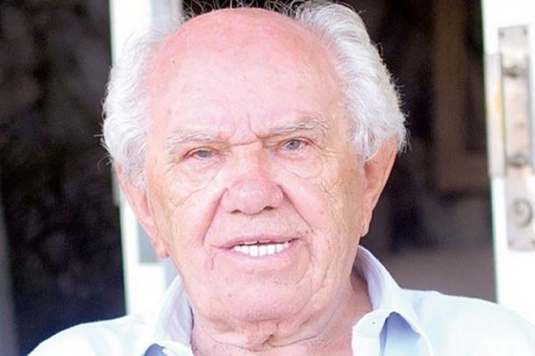 Nico Romanini morreu aos 92 anos, em São Paulo, onde estava sob tratamento médico. Será sepultado nesta terça-feira em Adamantina (Foto: Estela Mendes/Jornal Regional).