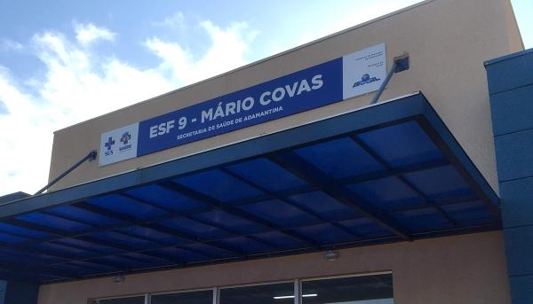 Recém-inaugurada Unidade Básica de Saúde do Mário Covas, onde estão sediadas duas equipes de Estratégia de Saúde da Família (Foto: Siga Mais).