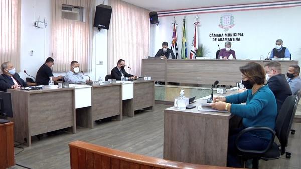 Sessão Extraordinária da Câmara Municipal realizada na tarde desta quarta-feira (7) referendou nomes para reitoria da UniFAI (Reprodução).