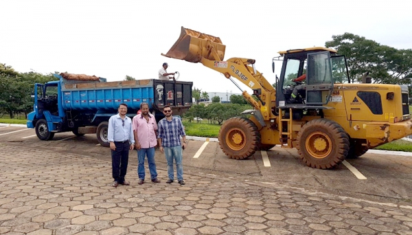Obras de construção do Bloco V, no Câmpus II da UniFAI, foram iniciadas semana passada (Foto: UniFAI).