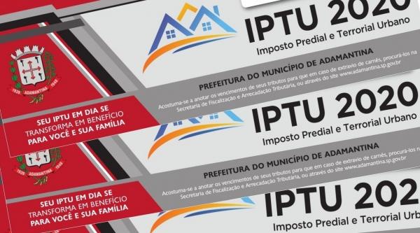 Carnês do IPTU começam a ser entregues nesta quarta-feira (12) com 7,3% de reajuste