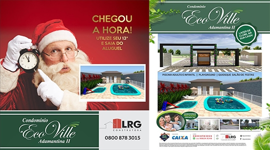 LRG destaca que utilização do 13º pode ser decisiva para transformar o sonho da casa própria em realidade (Divulgação).
