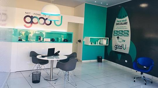 Loja goodU em Lucélia está instalada na Avenida Internacional, 1.484, centro (Divulgação).