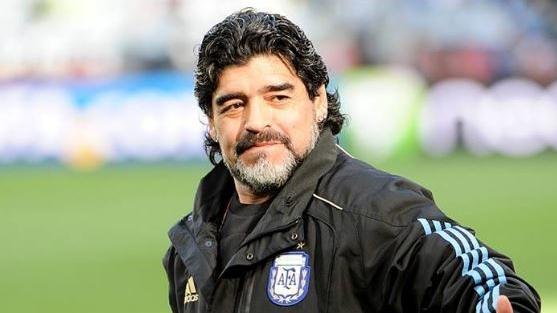 (Reprodução/ Facebook Diego Maradona Oficial).
