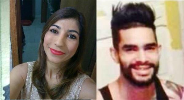 A professora Elisabete Aparecida Ribeiro, de 37 anos, foi morta a facadas pelo namorado Jefferson Carlos da Silva, de 28 anos, que é procurado pela Polícia (Reprodução).