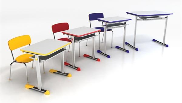 Novo mobiliário escolar será adquirido a partir da Ata de Registro de Preços do FNDE, para as escolas municipais de Adamantina (Imagem: Ilustração).