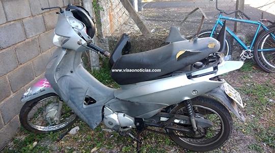 Motociclista morreu após perder o controle do veículo e colidir em pilar, na SP-294, entre Pompéia e Oriente (Reprodução/Visão  Notícias).
