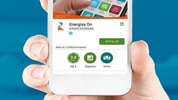 Aplicativo Energisa On é u dos canais de atendimento digital da Energisa Sul-Sudeste (Divulgação).