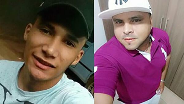 Bruno Raphaellh (19) e Emerson Venceslau (34), eram moradores em Flora Rica (Reprodução/Site Jorge Zanoni).