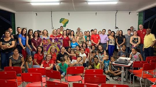 Palestra sobre Diabetes Infantil aconteceu na noite da última segunda-feira, 30, na EMEF Prof. Eurico Leite de Morais (Foto: As. Imprensa/Lions Clube).