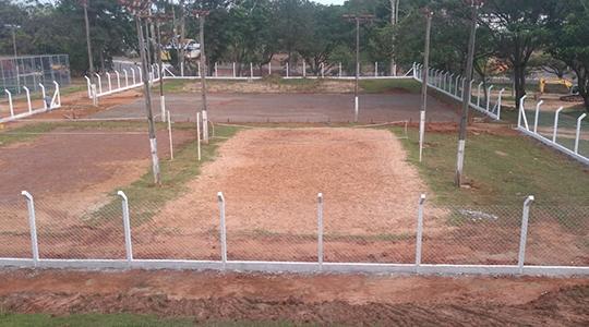 Obras foram iniciadas no local, neste mês de outubro. Convênio foi assinado em 2013 (Foto: Cedida).