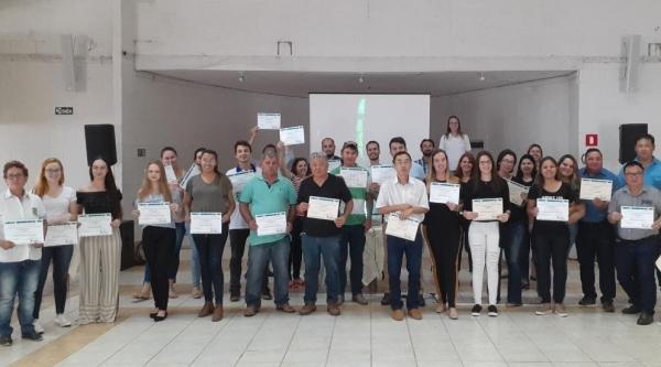 Público de Adamantina e região que participou da capacitação  (Da Assessoria).
