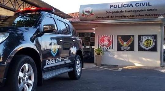 Aparato policial foi mobilizado para apurar roubo que não aconteceu. A então vítima e agora acusado vai responder por comunicação falsa de crime (Cedida/Polícia Civil).