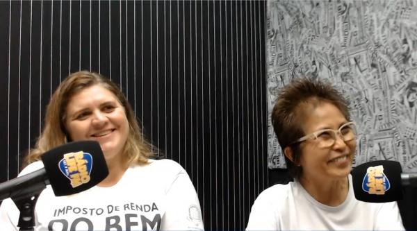 Presidentes do FMDCA e do FMI, Érica Grespi Maião e Dra. Elza Yamashiro solicitam o apoio de todos os contribuintes nesta importante campanha solidária (Assessoria de Imprensa / IR do Bem).