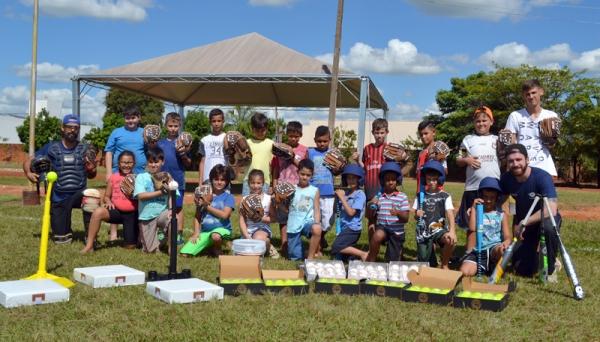Gincana de Pais e Filhos do ProEduc-UniFAI, em comemoração ao Dia das Crianças, contará com uma demonstração histórica do beisebol em Adamantina e no mundo (Foto: Arquivo UniFAI).