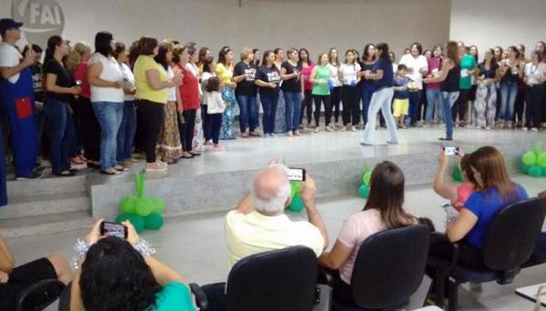 Programa abrange, atualmente, 400 alunos das redes municipais de Ensino de Adamantina, Lucélia e Flórida Paulista com a ideia de aguçar a musicalização dos professores para que esse conhecimento se estenda aos alunos (Imagem: UnIFAI).