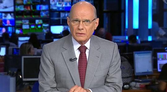 Jornalista Ricardo Boechat morre aos 66 anos, em queda de helicóptero (Reprodução/Band).