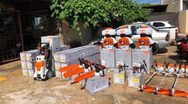 O convênio possibilitou que a SAAMA adquirisse equipamentos para aprimorar os serviços prestados (Da Assessoria/PMA).