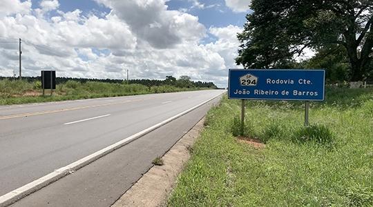 SP-294, que atravessa os municípios da Nova Alta Paulista, está no pacote de concessões (Foto: Siga Mais).