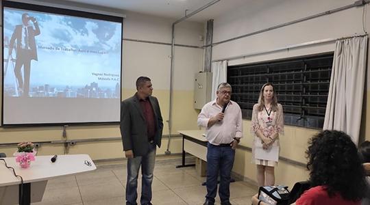 Cinco palestras foram realizadas na Semana de Tecnologia (Setec) em Gestão Comercial, na Fatec Adamantina (Fotos: Cedidas/Fatec).
