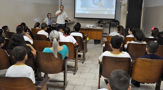 SAAMA deu início ao Programa Escola Sustentável nas EMEFs Teruyo Kikuta, Navarro de Andrade e Eurico Leite de Moraes (Da Assessoria).