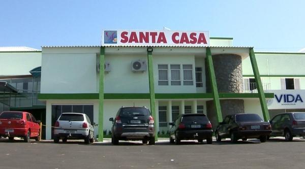 Santa Casa de Osvaldo Cruz (Reprodução: TV Fronteira).