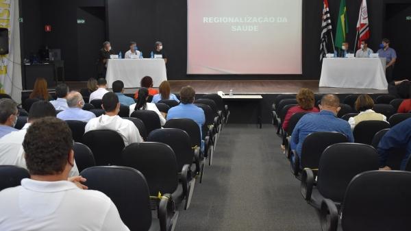 Reunião regional realizada em Adamantina (Divulgação/PMA).