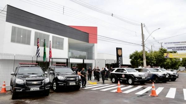 Novo prédio da Delegacia Seccional da Polícia Civil em Adamantina foi inaugurado em fevereiro do ano passado (Foto: GovSP).