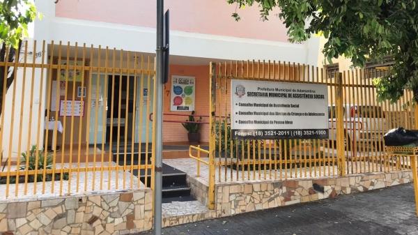 Secretaria Municipal de Assistência Social de Adamantina (Divulgação/PMA).