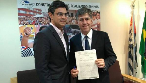 Prefeito Márcio Cardim anuncia conquista de moradias do Minha Casa, Minha Vida, para Adamantina (Foto: Da Assessoria).