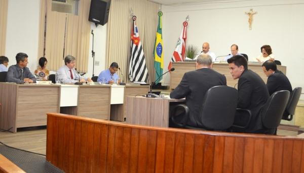 Vereadores aprovam em sessão extraordinária projeto de lei que autoriza movimentação de recursos extras ao orçamento municipal (Arquivo).