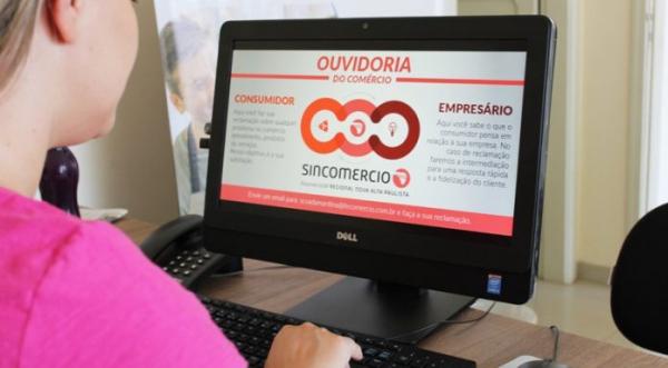 Reclamações à Ouvidoria do Comércio devem ser dirigidas ao email scvadamantina@fecomercio.com.br (Divulgação).