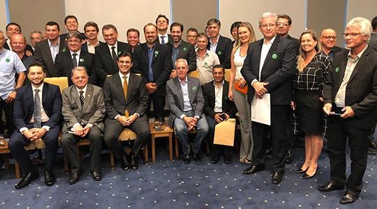Prefeitos das cidades da Nova Alta Paulista, ligados à AMNAP, são recebidos no Palácio dos Bandeirantes (Da Assessoria).