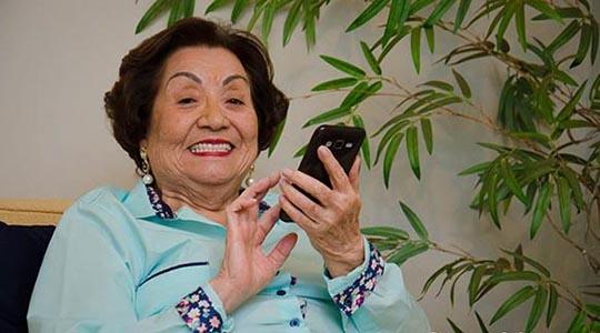 Tuika Yamamoto morreu aos 89 anos, em Adamantina (Foto: Sandra Rigato para a Revista Vox/Grupo Impacto).