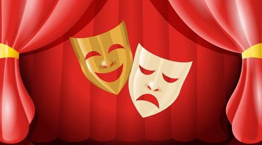Inscrições para oficina de teatro são gratuitas e já estão abertas (Ilustração).