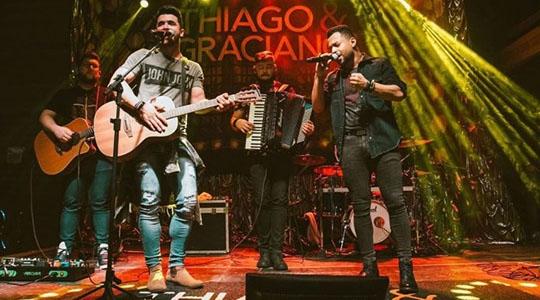 Tiago & Graciano gravam nesta sexta-feira novo DVD em Adamantina (Foto: Divulgação | Gustavo Castellon).