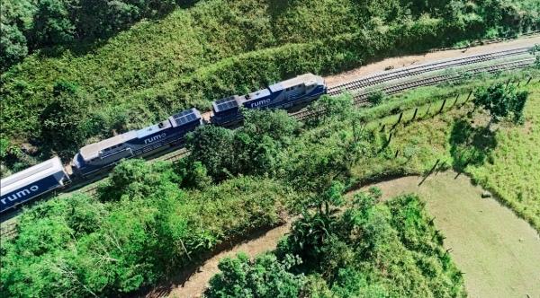 Novo contrato deve permitir o aumento da capacidade de transporte da ferrovia com custos mais baixos (Divulgação/Ministério da Infraestrutura).