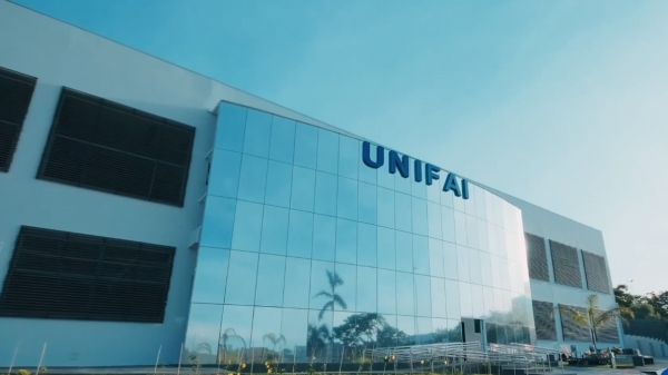 Bloco 5, no campus 2 da UniFAI, dedicado ao curso de medicina e outros da área da saúde (Reprodução/UniFAI).