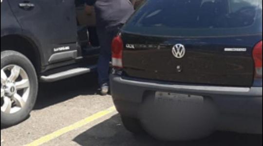 Carro da vítima foi recuperado pela Polícia Civil com receptador (Reprodução: Site Tupã Notícias).
