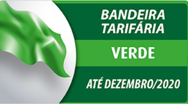 Clique para adicionar uma legendaBandeira tarifária permanece verde até o final do ano (Divulgação/ANEEL).