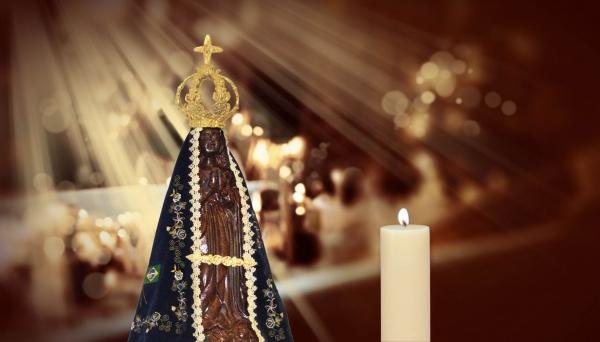 Aparição da imagem de Nossa Senhora Aparecida completa 300 anos este ano com uma programação extensa de homenagens e celebrações (Foto: Reprodução/Arautos do Evangelho).