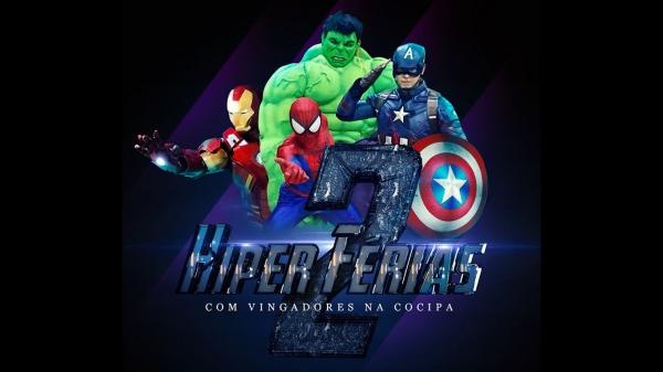 Vingadores estarão na Cocipa Hipermercado neste sábado (13), das 10h às 12h (Divulgação).