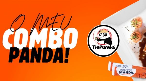 Novidade Tio Panda: monte combos personalizados, pague por cada unidade e receba no endereço informado com conforto e segurança. Pedido mínimo é de 10 itens (Divulgação).