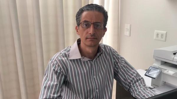 Professor doutor Alexandre Teixeira de Souza, reitor da UniFAI para o mandato que vai até 30 de junho de 2025 (Acervo Pessoal).