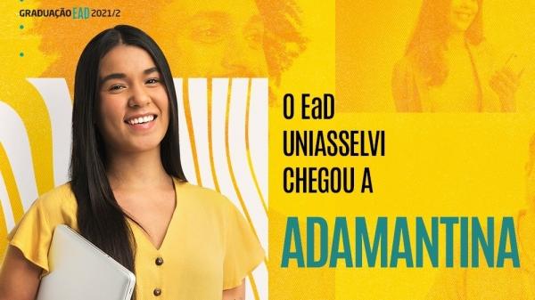 Uniasselvi Adamantina traz mais de 150 cursos de graduação e 160 de pós graduação à Alta Paulista