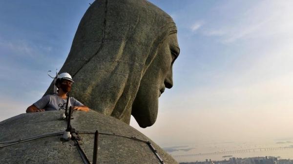 Monumento demorou cinco anos para ficar pronto e foi inaugurado em 12 de outubro de 1931 (Foto: Tânia Rego - Agência Brasil).