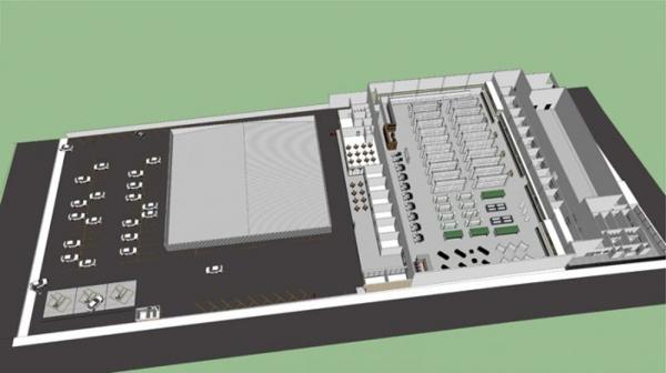 Kawakami chega a Adamantina com hipermercado atacarejo estilo compacto, uma galeria de lojas com oito espaços comerciais, restaurante e posto de combustíveis, totalizando 7.476 m² de área construída (Imagem: Reprodução/Impacto/Ginotícias).
